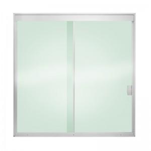 Janela vidro temperado 2 folhas vidro incolor for Porta 4 folhas de vidro temperado